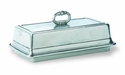 Match Italian Pewter Covered Butter Dish