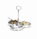 Match Italian Pewter Crudite Trio
