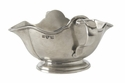 Match Italian Pewter Double Spout Gravy Boat