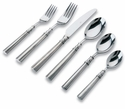 Match Italian Pewter Flatware Lucia 6 Piece Place Setting with Forged Blade