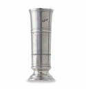 Match Italian Pewter Footed Cylinder Vase