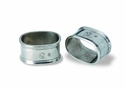 Match Italian Pewter Oval Napkin Ring (set of 2)