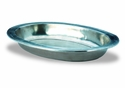 Match Italian Pewter Oval Serving Bowl Large