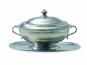 Match Italian Pewter Oval Tureen