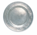 Match Italian Pewter Round Platter Large