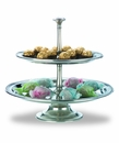 Match Italian Pewter Toscana Two-Tier Centerpiece