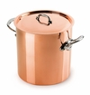 Mauviel M150S Stainless steel Handled stock pot 24 cm