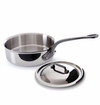Mauviel Mcook Cast iron Handled saute pan 28 cm with helper and lid