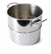 Mauviel Mcook Cast Stainless Handled pasta insert 24 cm