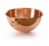 Mauviel MPassion Bronze Ring Handled 4.9 Qt. Copper Beating Bowl