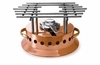 Mauviel Mplus heater with alcohol burner