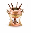 Mauviel Mtradition Bronze Handled fondue pot