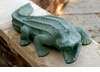 Mean Old Alligator Sculpture by SPI Home