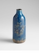 Medium Blue Terra Cotta Vase by Cyan Design