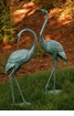 Medium Garden Crane Pair Sculpture by SPI Home