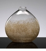 Medium Gold Dust Glass Vase by Cyan Design