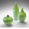 Medium Meadow Green Glass Vase by Cyan Design