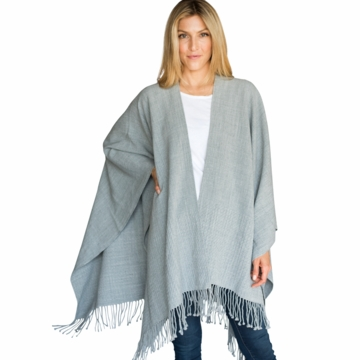 Mer Sea Travel Wrap Fog (Light Grey)