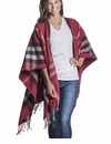 Mer Sea Travel Wrap Plaid Seaberry