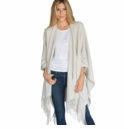 Mer Sea Travel Wrap Sea Salt (Grey-White With Heathering)
