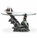 Mermaid & Schooner Coffee Table by SPI Home