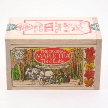 Metropolitan Tea Company Premium Maple Ceylon Tea - Box of 25 Tea Bags