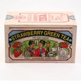 Metropolitan Tea Company Premium Strawberry Green Tea - 25 Tea Bags