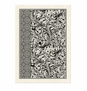 Michel Design Works Black Florentine Kitchen Towel