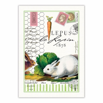 Michel Design Works Bunnies Kitchen Towel