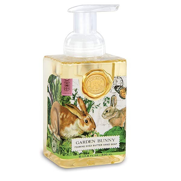 Michel Design Works Garden Bunny Foaming Soap