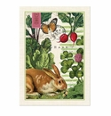 Michel Design Works Garden Bunny Kitchen Towel