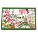 Michel Design Works In the Garden Vanity Decoupage Wooden Tray
