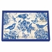 Michel Design Works Indigo Cotton Vanity Decoupage Wooden Tray