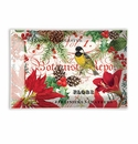 Michel Design Works Merry & Bright Rectangle Glass Soap Dish