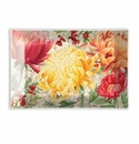 Michel Design Works Morning Blossoms Rectangle Glass Soap Dish