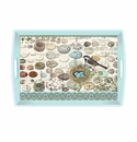 Michel Design Works Nest & Eggs Large Decoupage Wooden Tray
