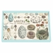 Michel Design Works Nest & Eggs Vanity Decoupage Wooden Tray