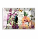 Michel Design Works Orchids in Bloom Rectangle Glass Soap Dish