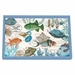 Michel Design Works Sea Life Vanity Decoupage Wooden Tray