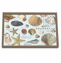 Michel Design Works Seashells Vanity Decoupage Wooden Tray