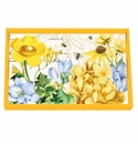 Michel Design Works Tranquility Vanity Decoupage Wooden Tray