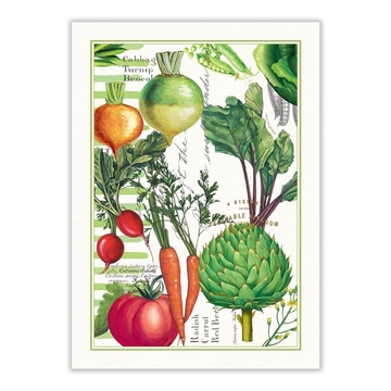Michel Design Works Vegetable Kingdom Kitchen Towel