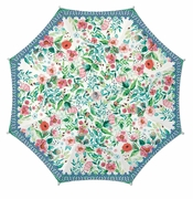 "Michel Design Works Wild Berry Blossom Umbrella 40"" Diameter"