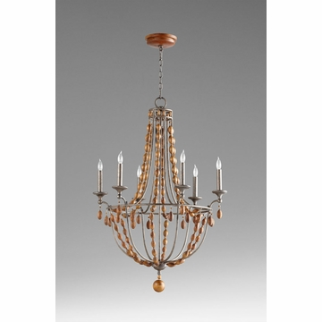 Middleton 6 Light Bronze Chandelier by Cyan Design
