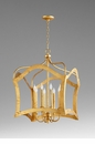 Milan Eight Light Pendant Gold by Cyan Design