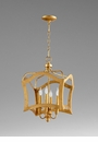 Milan Four Light Pendant Gold by Cyan Design