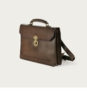 Mission Mercantile Benjamin Briefcase Walnut