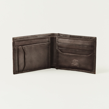 Mission Mercantile Bifold Pocket Wallet Walnut
