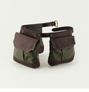 Mission Mercantile Bird Bag Trio Game Belt Forest