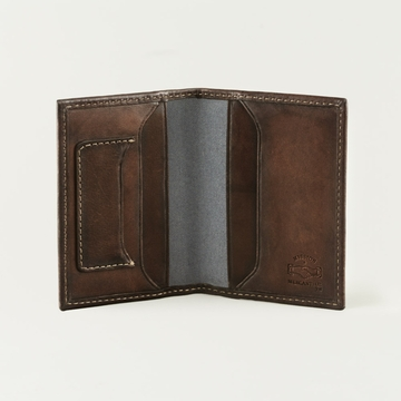 Mission Mercantile Card Wallet Hickory